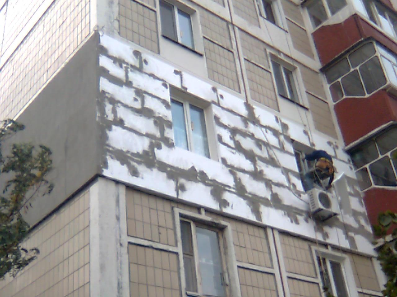 Наружное утепление балконов и лоджий фото. - дешевые окна - .